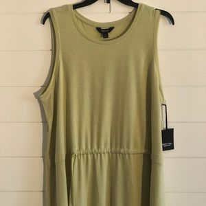 Celery Colored Tank by Simply Vera